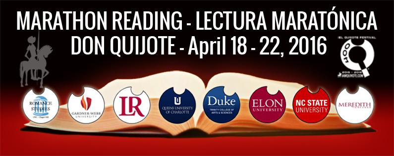 Marathon Reading Don Quixote - Lectura Maratónica Don Quijote