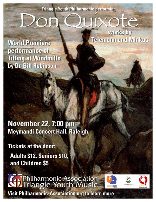 Don Quixote Triangle Youth Philharmonic  Concert November 22nd 2015
