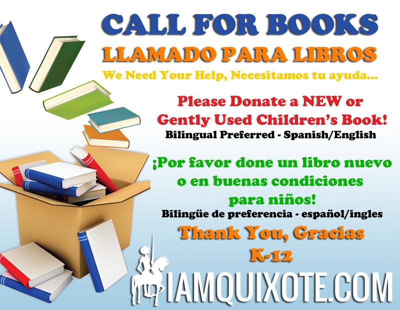 CHILDREN'S BOOK DRIVE -COLECTA DE LIBROS PARA NIÑOS