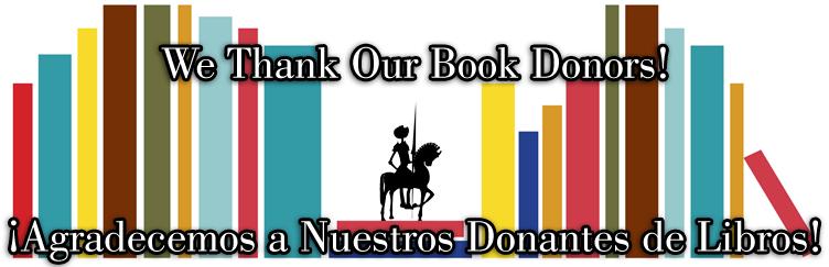 El Quixote Festival Book Donors