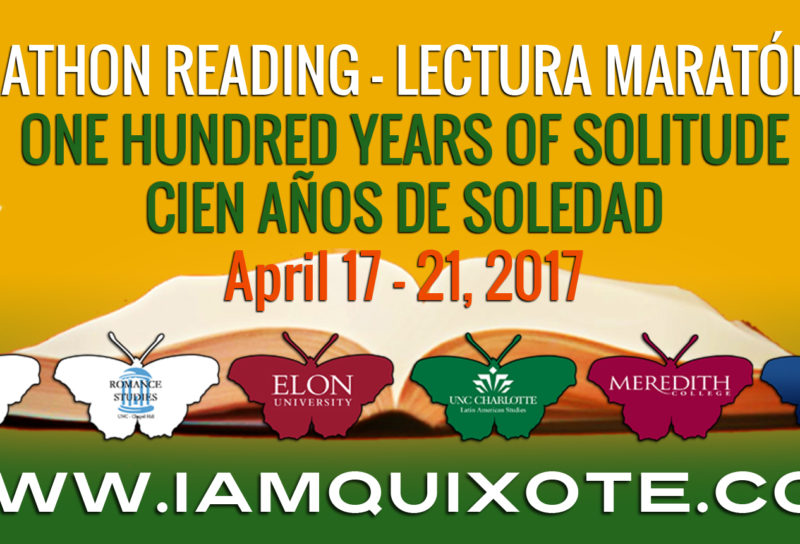 100 YEARS OF SOLITUDE MARATHON READING – LECTURA MARATÓNICA