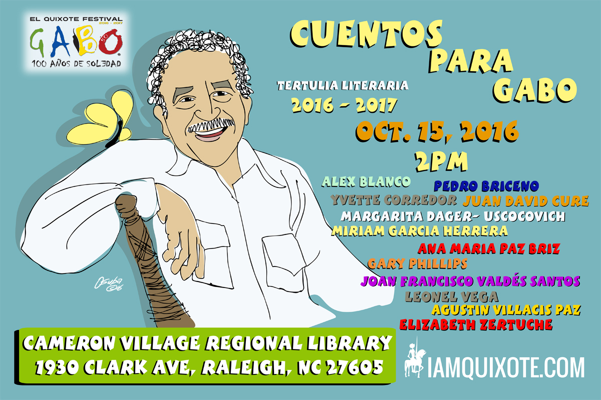 Cuentos Para Gabo - Stories for Gabo October 15th, 2016