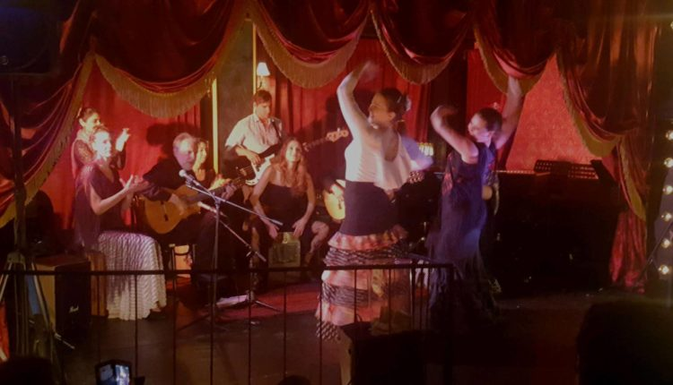 Ed Stephenson and the Paco BandNoche Flamenca II at C. Grace