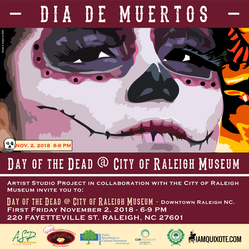 Day-of-the-Dead-@ The City of Raleigh Museum